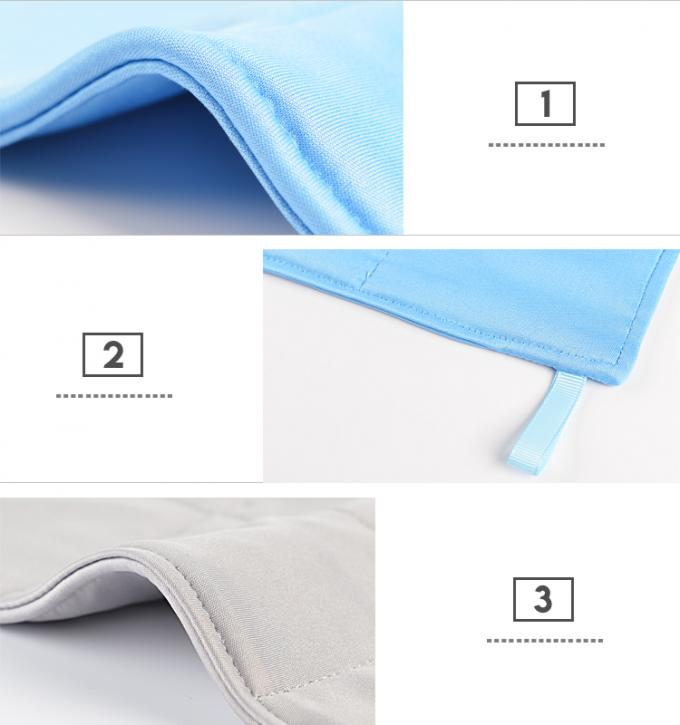 3 Layers Anti Static Microfiber Cloth Good Hygroscopic For Cleanroom