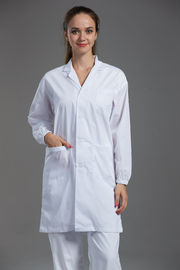 China High Performance Esd Anti Static Garments , Food Factory Clothing Lightweight factory
