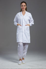China Anti Static Esd Food Processing Clothing With 10E7-10E11 Ohm Surface Resistance factory