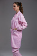 China Reusable Pink Food Processing Clothing Two Pieces Non Toxic No Radiation factory