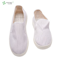 China Industrial Dustproof Static Resistant Shoes With TC Canvas Upper Material factory