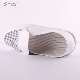 Dust Free Anti Static Accessories , Pvc Mesh Esd Cleanroom Shoes CE Approved