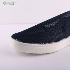 Anti Slip Anti Static Shoes Full Mesh Hole Fabric Working Footwear For Workshop