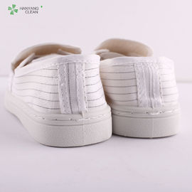 China Antistatic  dust-free  clean room pvc esd shoes for workshop factory