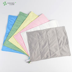 China 3 Layers Anti Static Microfiber Cloth Good Hygroscopic For Cleanroom factory