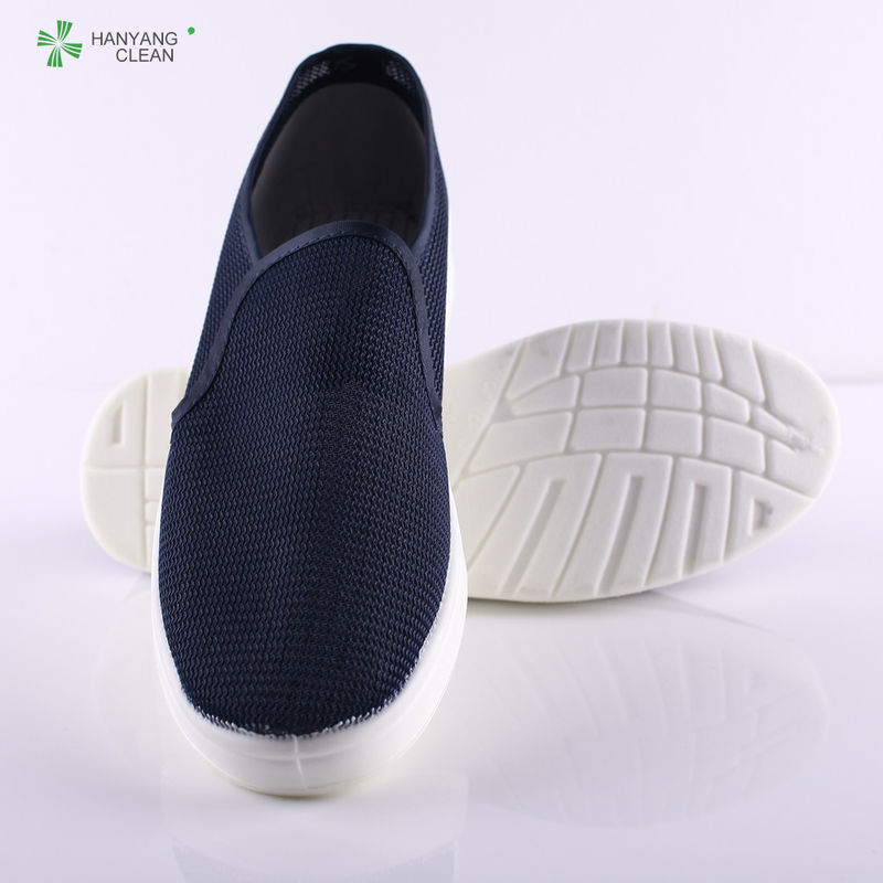 Winter PU Sole Anti Static Shoes Safety Canvas Shoes For Pharmaceutical Industrial