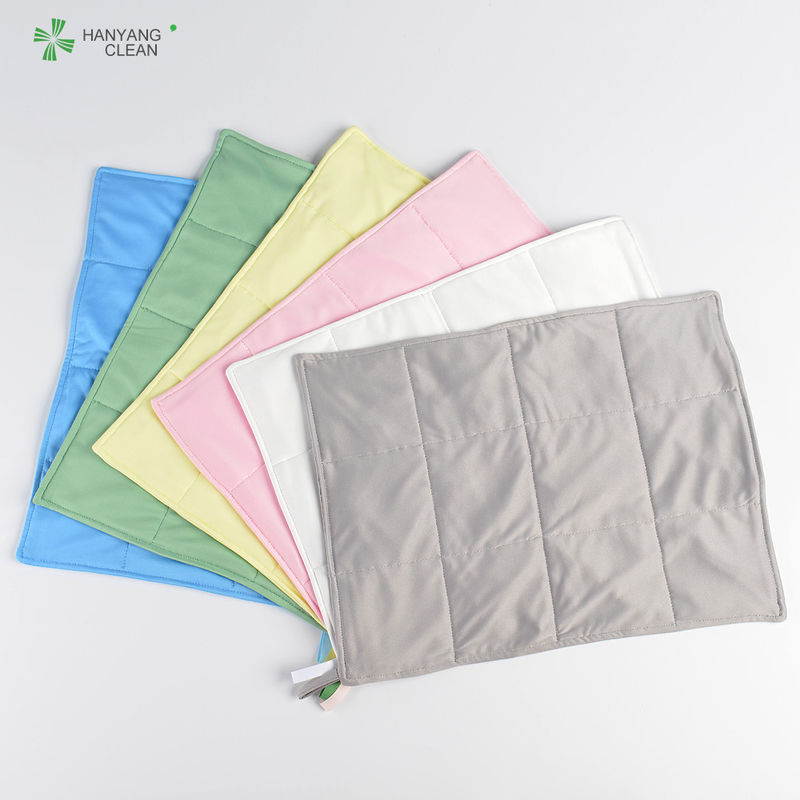 3 Layers Anti Static Microfiber Cloth Good Hygroscopic For Cleanroom supplier