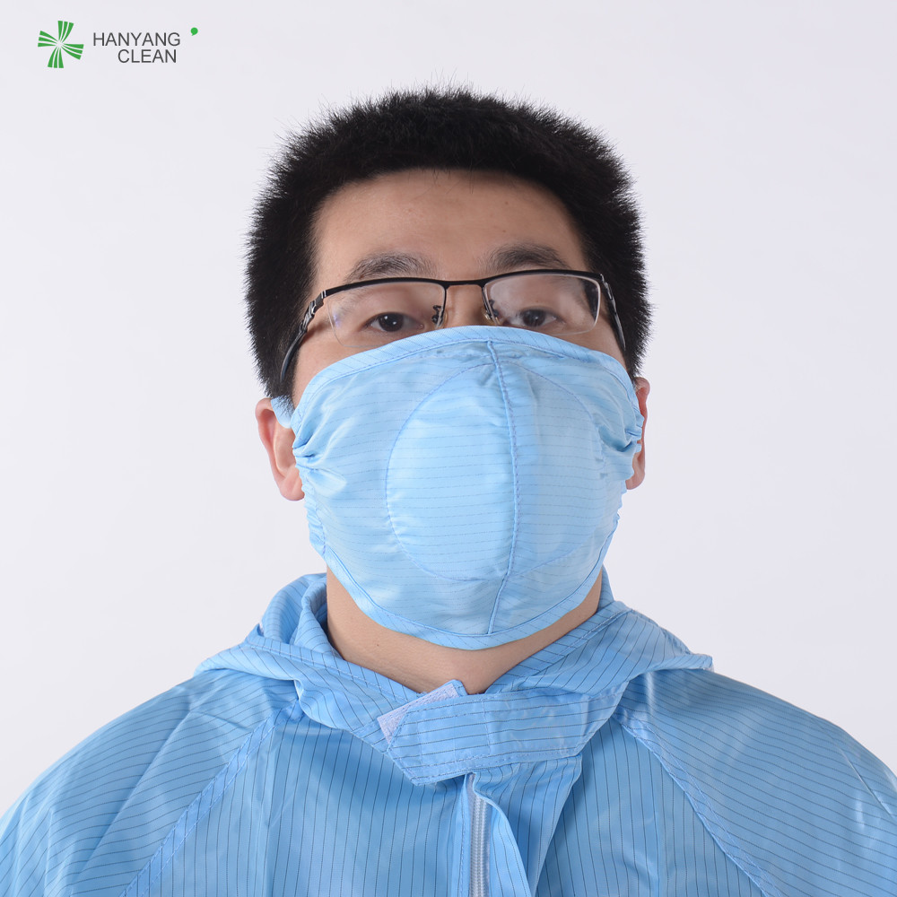 Facial Dust Washable Respirator Cleanroom Printed 3d Antistatic